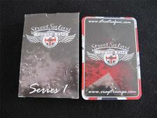 COLLECTORS PACK OF PLAYING CARDS - CRAP TRUMPS - STREET SAFARI - BANGER RALLY
