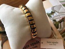 Blue Stretch Bangle Bracelet $68�� Kate Spade Scallop Gold Multi
