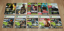 Magazin Heft Ausgabe Xbox XBG Games 360 Halo Splinter Cell Tomb Raider Prey etc