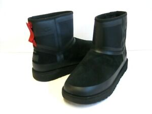 UGG CLASSIC MINI URBAN TECH MEN BOOTS SUEDE BLACK US 9 /UK 8 /EU 42 /JP 27