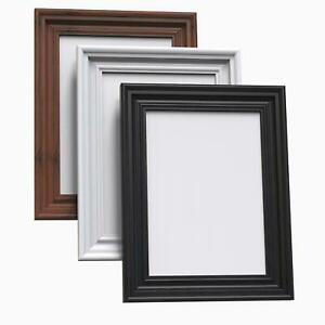 A1 A2 A3 A4 A5 Black Photo Frame White Picture Frame Poster Frames