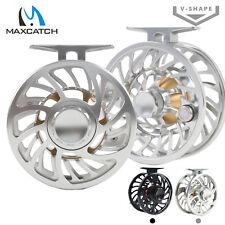 Maxcatch Saltwater-proof Reel 5/6/7/8/9/10/11/12WT Best Level Fly Fishing Reel