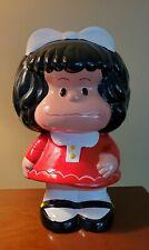 "Mafalda Figure Bank ~ Large 14"" height ~ Mafalda Hucha"
