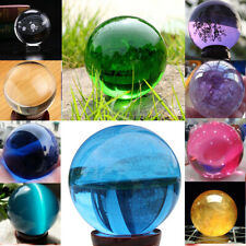 40mm Crystal Ball Lens Photography Clear Glass Healing Sphere Photo Prop Decor