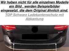 Schwarz Ladekantenschutz mit Abkantung Opel Zafira C + Tourer C P12 (TG1S)