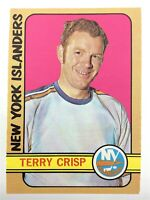 1972-73 Terry Crisp New York Islanders 88 OPC O-Pee-Chee Hockey Card P093