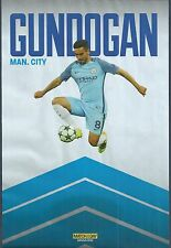 Motd-Poster 2016/17 - Manchester City & Deutschland-Borussia Dortmund Ilkay Gundogan