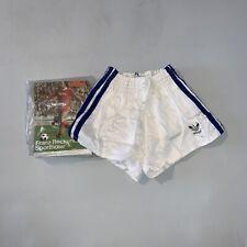 Vintage Adidas Beckenbauer Baumwoll Short Racer Sprinter Sporthose OVP Retro D3