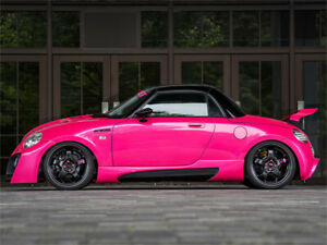 DiEZ Side Skirts for the Daihatsu Copen L880K by Rice Rocket