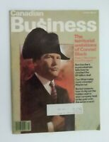 Canadian Business Magazine October 1982 The territorial ambtion of Conrad Black