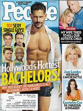 Joe Manganiello, Ryan Gosling, Hottest Bachelors - July 14, 2014 People Magazine