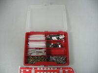 AI411-1# Box mit Schrauben/Kabelbinder Brawa/Schneider ?/Verkehrsschilder etc