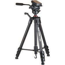 """Sunpak 620-840 Video Pro-M 4 Tripod Fluid Head 65"""" Open"""