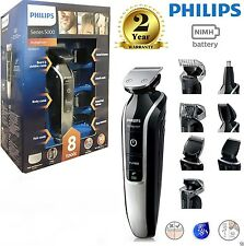 Philips QG3362/23 8-in-1 Mens Hair Beard Moustache Nose Clipper Trimmer Shaver