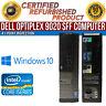 Dell OptiPlex 9020 SFF Intel i7 8 GB RAM 2 TB HDD Win 10 USB VGA B Grade Desktop