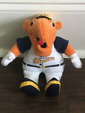 Montgomery Biscuits Big Mo Mascot Doll Plush Minor League Baseball Toy RARE