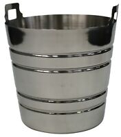 Zodiac 4.5Litre Champagne Bucket Stainless Steel Large Ice Bucket Wine Champagne