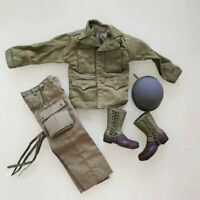 1/6 WW2 Us Uniform usa Soldier Military Soldat Army uniforme américain metal