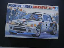 1/24 Tamiya PEUGEOT 205 Turbo 16 Works Rally Car