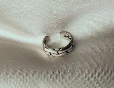 CHAIN LINKS: Sterling (.925) Silver Ear Cuff Earcuff Pierceless Earring SEE ALL