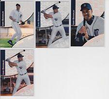 2000 Topps Tek #3 Juan Gonzalez Tigers Lot of 4 Patterns (5, 8, 15 x2)