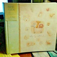 """C.R.Gibson Bound """"Baby Photos"""" Book-Holds 200 Photos-Custom Captions Spaces-New"""