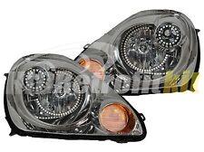 Custom Quad RGB LED Halo Retrofit Headlights For 2004 up Toyota MR-2 MR2 Spyder