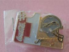 Jacksonville Jaguars #1 Helmet Coca-Cola Sponsor NFL Football New Lapel Pin