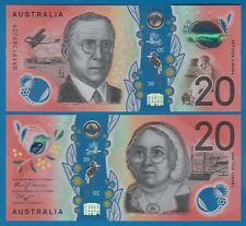 Australia 20 Dollars P New 2019 UNC Polymer, Low Shipping! Combine FREE!
