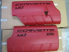 New C6 Corvette Z06 LS7 Engine Fuel Rail Covers LS2 LS3