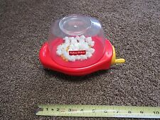 Fisher Price Fun with Food Poppity popcorn kernel buttery white snack popper toy
