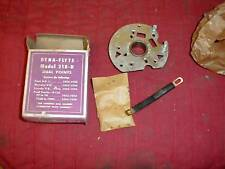 NOS FORD 1952-56 8 CYL DUAL POINT DISTRIBUTOR PLATE