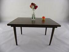 Vintage 1958 Mattel Mid Century Modern Furniture Dining Room Table MCM Barbie