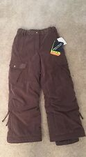 Obermeyer Bailey Corduroy Insulated Ski Pants Size 10 Juniors NWT  $129