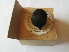 Pour poste radio TSF 1920' potentiomètre Burndept 4 ohms neuf dans sa boîte