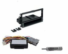 Single Din Aftermarket Install Dash Kit Radio Stereo to Factory System Interface