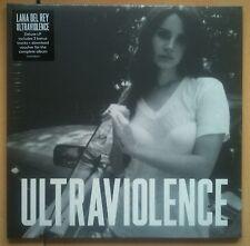 Lana Del Rey Ultraviolence DELUXE LP Vinyl Record Album,DOWNLOAD 3 BONUS TRACKS