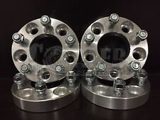 """Set of 4 Wheel Spacers 1.25"""" Aluminum 5 Lug 5x4.5 Bolt Fit Ford Mustang GT 94-14"""