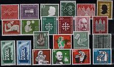 BRD Jahrgang 1956 komplett postfrisch, Mi. - Nr. 227 - 248