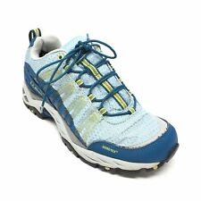 Women's LL Bean Gore-tex Hiking Shoes Size 7 M Blue Green Outdoor Trail L10