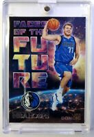 2018-19 Panini NBA Hoops Faces of the Future Luka Doncic Rookie RC #3, Mavs