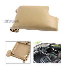New For BMW E46 Leather Armrest Center Console Lid Cover Storage Box Beige