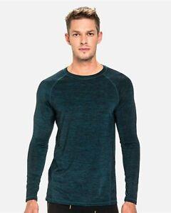 TEAMM8 Triumph t-shirt long sleeve green men gym size XL
