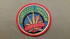 local 13 weed embroidered marijuana pickers iron on pot patch