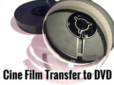 Cine Projector Film To DVD TRANSFER SERVICE Super 8 Standard 8mm Single 8mm