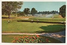 MD Postcard Bethesda Maryland Kenwood Golf and Country Club practice green