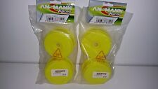 ANSMANN RACING PRO NEON YELLOW BUGGY RIM SET 213000014 NEW FULL SET