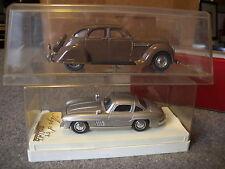 Lotto 2 modelli 1/43 Solido Mercedes 300 SL REXTOYS Chrysler Airflow 1935