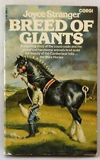 Breed of Giants Joyce Stranger David Rook story of Shire Horse book pb 1975