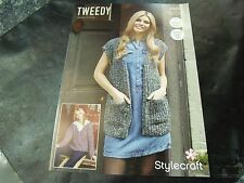 Stylecraft Double Knit Pattern 9429 Two Easy Knit Designs 81/86 - 122/127 cm